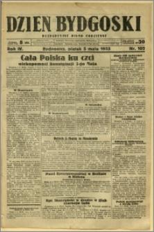 Dzień Bydgoski, 1933, R.4, nr 102