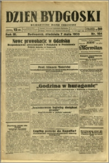 Dzień Bydgoski, 1933, R.4, nr 104