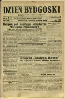 Dzień Bydgoski, 1933, R.4, nr 105
