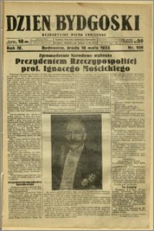 Dzień Bydgoski, 1933, R.4, nr 106