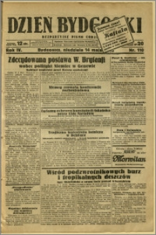 Dzień Bydgoski, 1933, R.4, nr 110