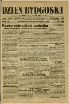 Dzień Bydgoski, 1933, R.4, nr 112