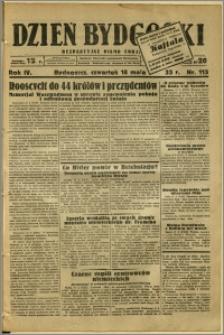 Dzień Bydgoski, 1933, R.4, nr 113