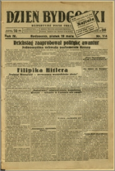 Dzień Bydgoski, 1933, R.4, nr 114