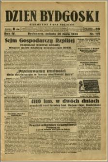 Dzień Bydgoski, 1933, R.4, nr 115