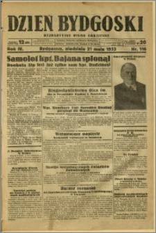 Dzień Bydgoski, 1933, R.4, nr 116