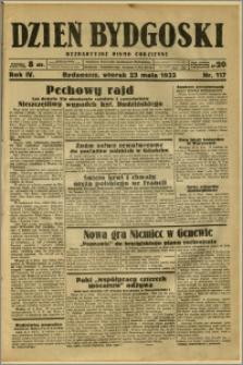 Dzień Bydgoski, 1933, R.4, nr 117