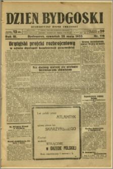 Dzień Bydgoski, 1933, R.4, nr 119