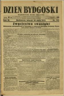 Dzień Bydgoski, 1933, R.4, nr 122