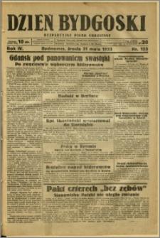 Dzień Bydgoski, 1933, R.4, nr 123