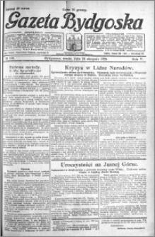 Gazeta Bydgoska 1926.08.18 R.5 nr 188