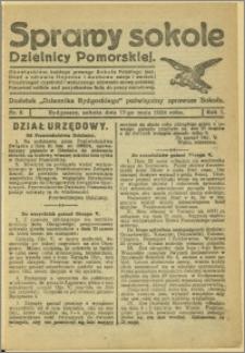 Biuletyn Sokoli Dzielnicy Pomorskiej, 1924, R.1, nr 6