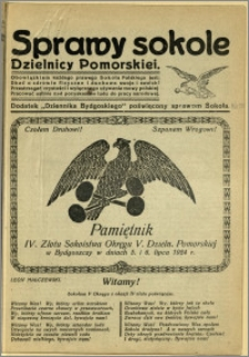 Biuletyn Sokoli Dzielnicy Pomorskiej, 1924, R.1, nr 10a