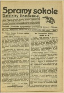 Biuletyn Sokoli Dzielnicy Pomorskiej, 1924, R.1, nr 11