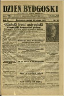 Dzień Bydgoski, 1931, R.2, nr 40