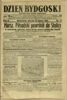 Dzień Bydgoski, 1931, R.2, nr 73