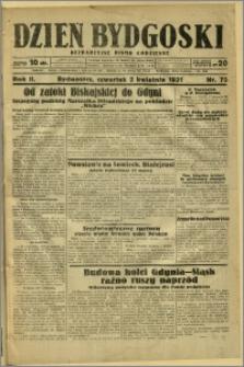 Dzień Bydgoski, 1931, R.2, nr 75