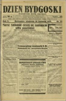 Dzień Bydgoski, 1931, R.2, nr 95