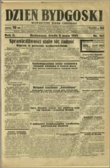 Dzień Bydgoski, 1931, R.2, nr 103
