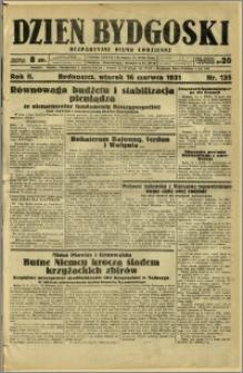Dzień Bydgoski, 1931, R.2, nr 135