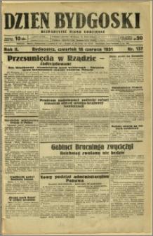 Dzień Bydgoski, 1931, R.2, nr 137