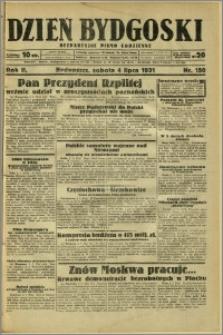 Dzień Bydgoski, 1931, R.2, nr 150
