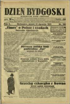 Dzień Bydgoski, 1931, R.2, nr 190
