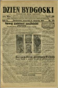 Dzień Bydgoski, 1931, R.2, nr 195