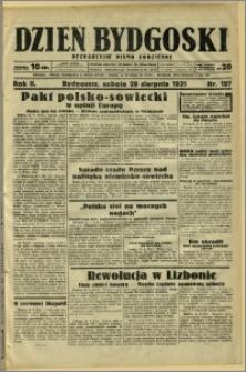 Dzień Bydgoski, 1931, R.2, nr 197