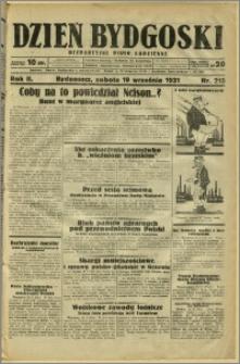 Dzień Bydgoski, 1931, R.2, nr 215