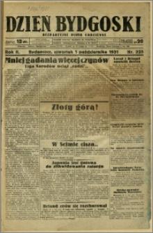 Dzień Bydgoski, 1931, R.2, nr 225
