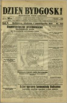 Dzień Bydgoski, 1931, R.2, nr 228