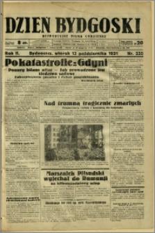 Dzień Bydgoski, 1931, R.2, nr 235