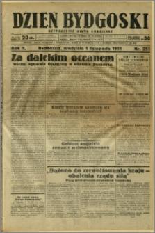 Dzień Bydgoski, 1931, R.2, nr 252