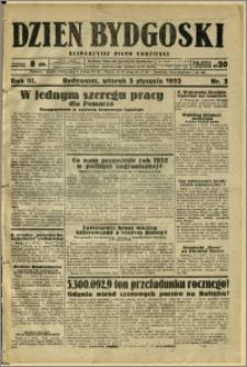 Dzień Bydgoski, 1932, R.3, nr 3