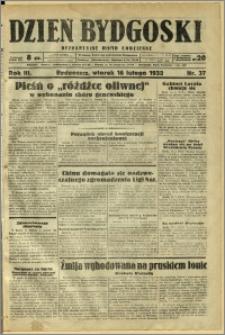 Dzień Bydgoski, 1932, R.3, nr 37