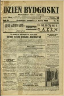 Dzień Bydgoski, 1932, R.3, nr 74