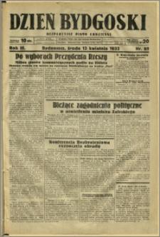 Dzień Bydgoski, 1932, R.3, nr 85