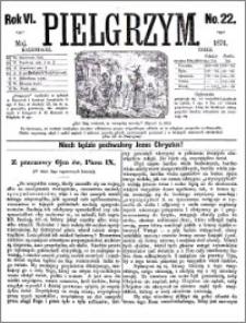 Pielgrzym, pismo religijne dla ludu 1874 nr 22