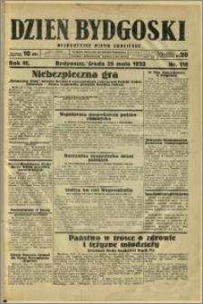 Dzień Bydgoski, 1932, R.3, nr 118