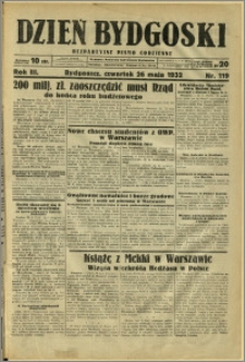 Dzień Bydgoski, 1932, R.3, nr 119