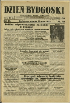 Dzień Bydgoski, 1932, R.3, nr 122