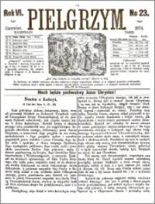Pielgrzym, pismo religijne dla ludu 1874 nr 23