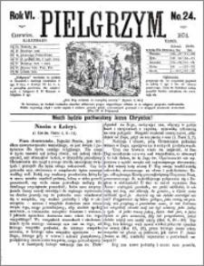 Pielgrzym, pismo religijne dla ludu 1874 nr 24