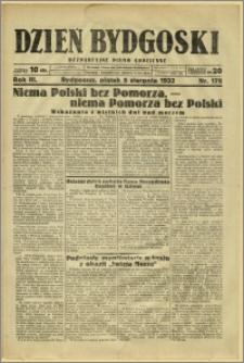 Dzień Bydgoski, 1932, R.3, nr 178
