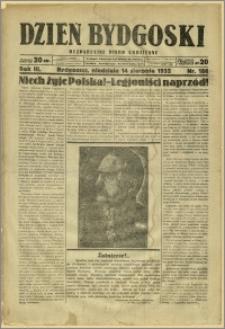 Dzień Bydgoski, 1932, R.3, nr 186