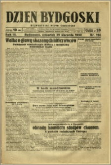 Dzień Bydgoski, 1932, R.3, nr 194