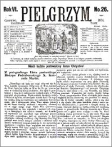 Pielgrzym, pismo religijne dla ludu 1874 nr 26