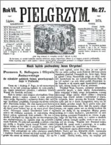 Pielgrzym, pismo religijne dla ludu 1874 nr 27