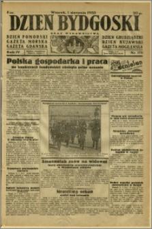 Dzień Bydgoski, 1933, R.4, nr 173